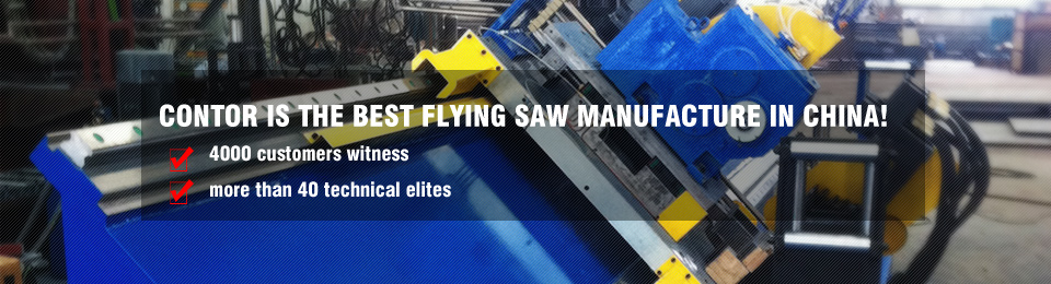 Cold flying saw