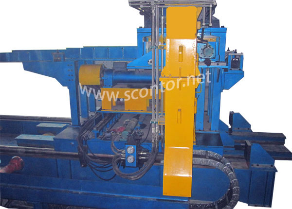 friction saw for structural steel