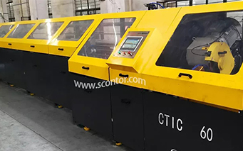 Automatic tube cutoff machine