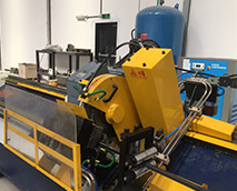 flying cold saw cutoff machine
